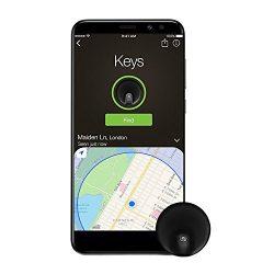 MTFY Key Finder,Wireless Phone Tracker Anti-Lose Alarm Sensor GPS Tracker for IOS,Android Smartp ...