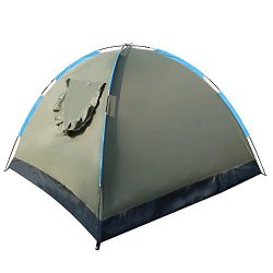 Bormart 3-4 Person Camping Tent Portable Family Tent Camping Shelter Waterproof Tents with Carry ...