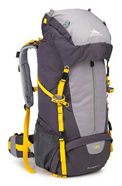 High Sierra Summit 45L Top LoadBackpack Pack, High-Performance Pack for Backpacking, Hiking, Cam ...