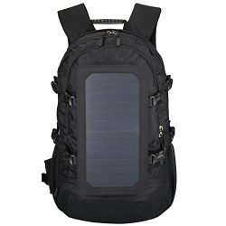 GDSZ Hiking Backpack,Solar Powered Backpack,Laptop Backpack With Solar Panel Charger,Hiking Dayp ...