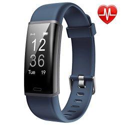 Lintelek Fitness Trackers HR IP67 Waterproof GPS Remote Camera Smart Wristband, Multiple Sports, ...