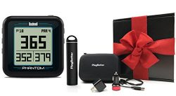 Bushnell Phantom (Black) Gift Box Bundle | with PlayBetter Portable Charger, USB Car/Wall Adapte ...