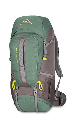 High Sierra Pathway 60L Top Load Internal Frame Backpack Pack ; High-Performance Pack for Backpa ...