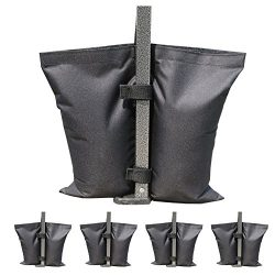 ABCCANOPY Industrial Grade Weights Bag, Leg Weights for Pop up Canopy 4pcs-pack