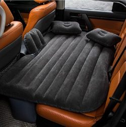 FBSPORT Car Travel Inflatable Mattress Air Bed Cushion Camping Universal SUV Extended Air Couch  ...