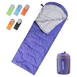 Emonia Camping Sleeping Bag,Waterproof Outdoor Hiking Backpacking Sleeping Bag Perfect for 20 De ...