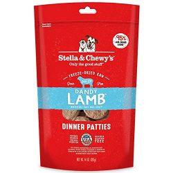 Stella & Chewy's Freeze-Dried Raw Dandy Lamb Dinner Patties Dog Food, 14 oz bag