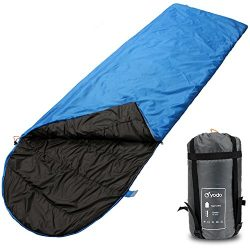 yodo Compact Warm Weather Sleeping Bag for Outdoor Camping Hiking Backpacking Travel with Compre ...