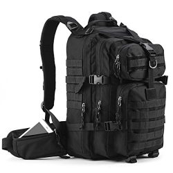 Gelindo Military Tactical Backpack, Army Molle Bug-out Bag, Small Rucksack for Hunting, Survival ...