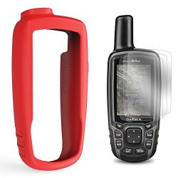 TUSITA Case with Screen Protector for Garmin GPSMAP 62 62s 62st 62sc 62stc 64 64s 64st 64sc R ...