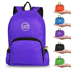 Leoker Ultralight Foldable Backpack Durable Travel Backpack,Small Handy Outdoor Daypack shopping ...