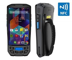 MUNBYN 3G 4G Handheld android 7.0 POS terminal with touch screen 2D honeywell barcode scanner bl ...