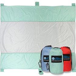 Mega Sand Proof Beach Blanket – XXL Oversized Blanket | 80% Larger than other Travel / Pic ...