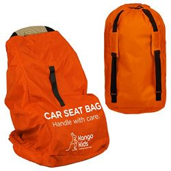 Car Seat Travel Bag -Make Travel Easier & Save Money. Carseat Carrier for Airport – Pr ...