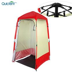 Quictent Automatic Rod Bracket Shower Tent/Changing/Toilet Room Shelter Outdoor Waterproof and A ...