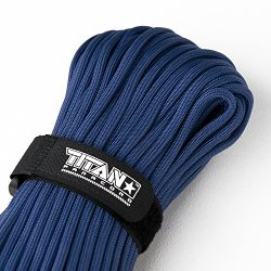 TITAN WarriorCord | ROYAL BLUE | 103 CONTINUOUS FEET | Exceeds Authentic MIL-C-5040, Type III 55 ...
