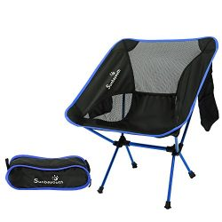LetsFunny Folding Camping Chair Portable Lightweight Backpack Chairs Compact Heavy Duty with Car ...