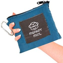 MEGA MONKEY MAT Portable Indoor/Outdoor 5'x8′ Water/Sand Repellent Blanket with Corn ...