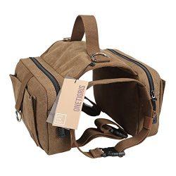 OneTigris Dog Pack Hound Travel Camping Hiking Backpack Saddle Bag Rucksack for Medium & Lar ...