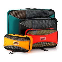 PRO Packing Cubes  Lightweight Travel – Packing for Carry-on Luggage, Suitcase and Backpac ...
