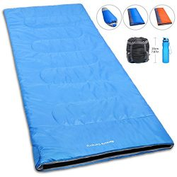 NORSENS Compact Ultralight/Lightweight Sleeping Bag for Camping Backpacking Hiking Outdoor, 20 D ...