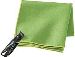 PackTowl Personal Microfiber Towel, Citrus, Face- 10 x 14-Inch