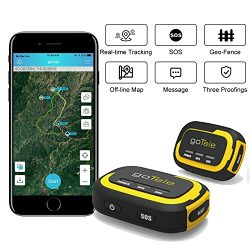GPS Tracker, No Monthly Fee Real Time GPS Tracker goTele Off-grid GPS Tracking Gear No Required  ...