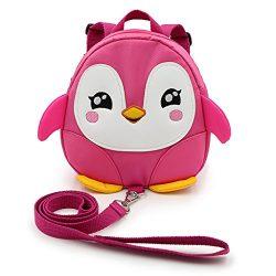 Hipiwe Baby Toddler Walking Safety Backpack Little Kid Boys Girls Anti-lost Travel Bag Harness R ...