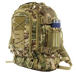 40L Outdoor Expandable Tactical Backpack Military Sport Camping Hiking Trekking Bag (08001 Multicam)