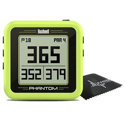 Bushnell Phantom Compact Handheld Golf GPS with Built-In Golf Cart Magnet and Wearable4U towel ( ...