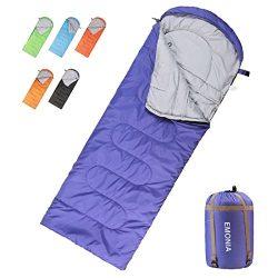 Emonia Camping Sleeping Bag,Three season.Waterproof Outdoor Hiking Backpacking Sleeping Bag Perf ...