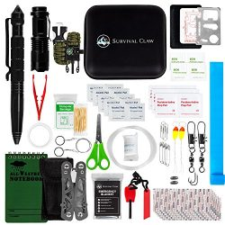 Survival Claw: Small Tactical Emergency Travel First Aid Kit and Earthquake Bug out Bag + Medica ...