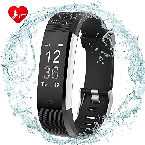 DIGI-YOUNG Fitness Tracker HR, Activity Tracker Watch with Heart Rate Monitor GPS Tracker,Step C ...