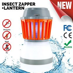 Odar 2-In-1 Bug Zapper & Camping Lantern – Rechargeable LED Lantern – IPX67 Wate ...