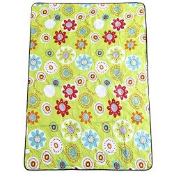 Kute 'n' Koo Picnic Blanket Waterproof Extra Large, Machine Washable and Fraying-Fre ...