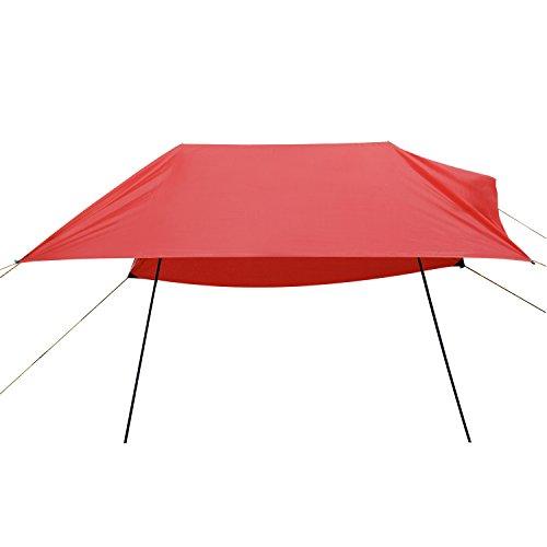 Domary Hammock Rain Fly Tent Tarp, Anti UV Beach Tent Sun Shelters, Portable Canopy Sunshade wit ...