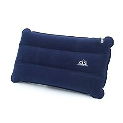 Buybuybuy Inflatable Camping Pillow, Compressible Ultralight Ergonomic Portable Air Pillow for N ...
