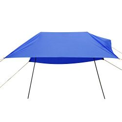 Domary Hammock Rain Fly Tent Tarp, Anti UV Beach Tent Sun Shelters, Portable Canopy Sunshade wit ...