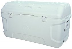 Igloo Contour Maxcold Cooler, 165 quart/156 L, White