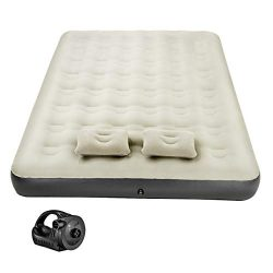Mpow Air Mattress Camping, Inflatable Air Bed with Rechargeable Electric Pump, Blow up Bed Tent  ...