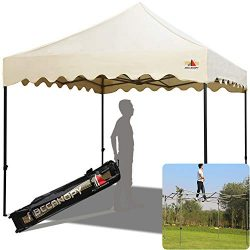 ABCCANOPY Outdoor Pop-Up Canopy Tent 10′ x 10′ Commercial Instant Shelter Garden Gaz ...