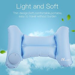 NULIPAM Lumbar Travel Pillow Inflatable Pregnant Women Ultralight Back Support Cushion Compressi ...