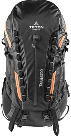 Teton Sports Talus 2700 Backpack; Lightweight Hiking Backpack for Camping, Hunting, Travel, and  ...