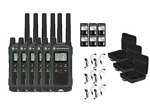 Motorola Talkabout T465 Two-Way Radios / Walkie Talkies – Weatherproof 22 Channels PTT IVO ...