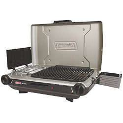 Coleman PerfectFlow8482; Portable Camp Propane Grill/Stove+