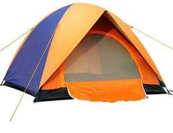 Waterproof Automatic Outdoor 2 Person Double Layer Instant Camping Family Tent, Outdoor Rain UV  ...