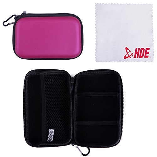 HDE Hard Travel Case Cover for Nintendo DS & 3DS (Original & XL) Handheld Game Systems ( ...