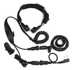 Baofeng VOX Headset Throat Mic Earpiece UV-5R UV-5RA Plus UV-5RB 888S 777S 666S Two Way Radio