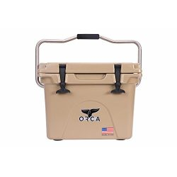 ORCA Extra Heavy Duty Cooler, Tan, 20-Quart