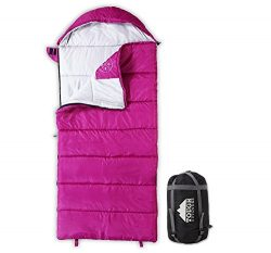 All Season Kids Sleeping Bag – Perfect for Children's Camping, Backpacking & Sle ...
